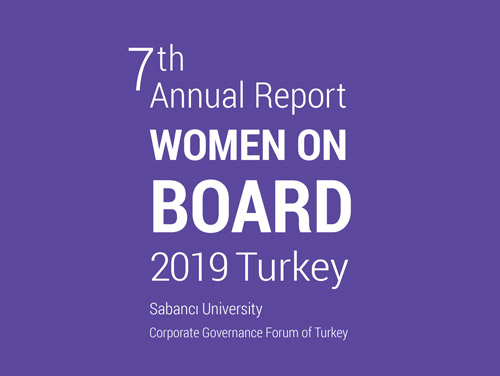 Women on Board Turkey 2019 , 7th Annual Report