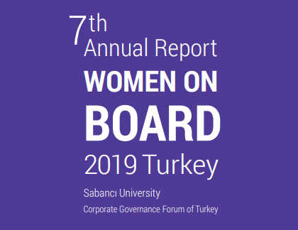 7th Annual Report Women on Board 2019 Turkey - Sabancı University